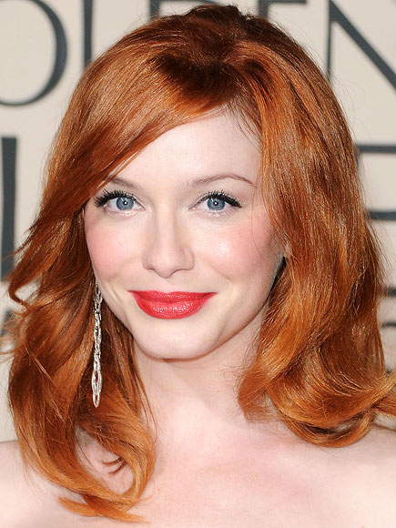 CHRISTINA'S RED-HOT POUT photo | Christina Hendricks