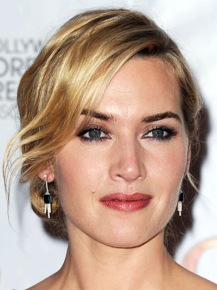 KATE'S GLAMOROUS GAZE photo | Kate Winslet