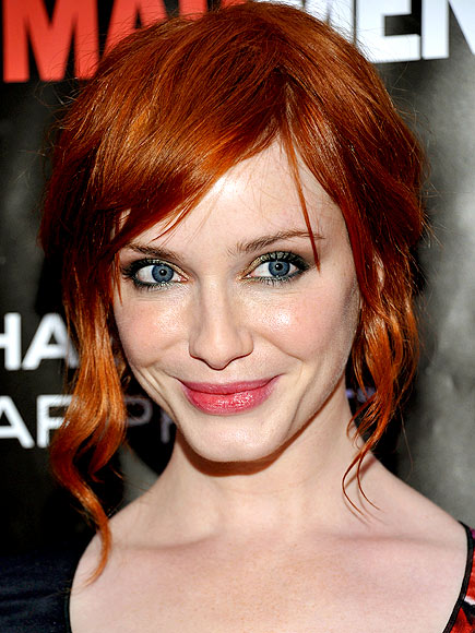 CHRISTINA HENDRICKS' MAKEUP photo | Christina Hendricks
