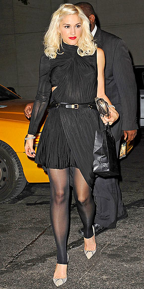 Gwen stefani in pantyhose necessary words