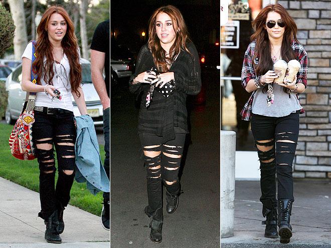 PAIGE JEANS  photo | Miley Cyrus