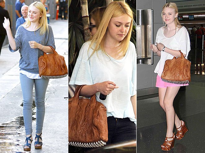ALEXANDER WANG BAG photo | Dakota Fanning