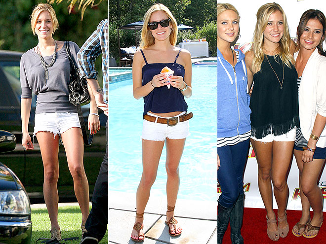 BLACK ORCHID SHORTS photo | Kristin Cavallari