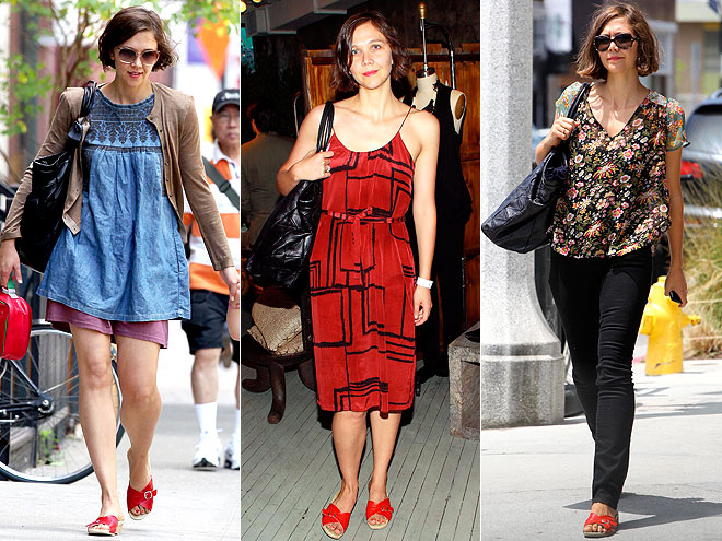 WORISHOFER SANDALS photo | Maggie Gyllenhaal
