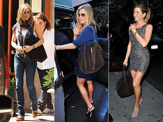 TIFFANY & CO. SUEDE TOTE photo | Jennifer Aniston