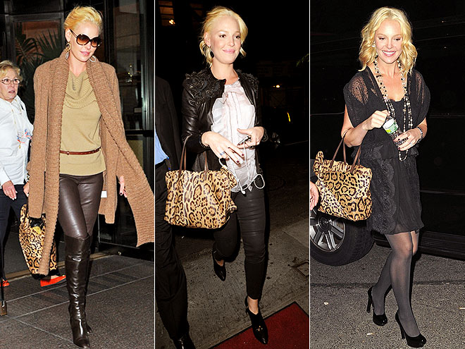 VALENTINO LEOPARD PURSE photo | Katherine Heigl