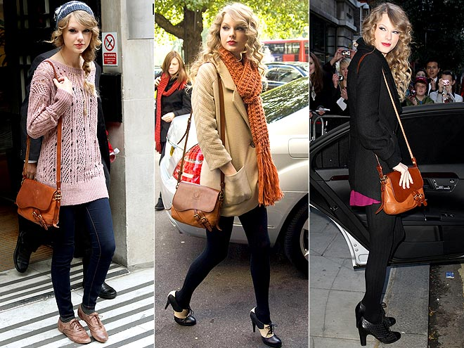 LAUREN BY RALPH LAUREN SADDLE BAG photo | Taylor Swift