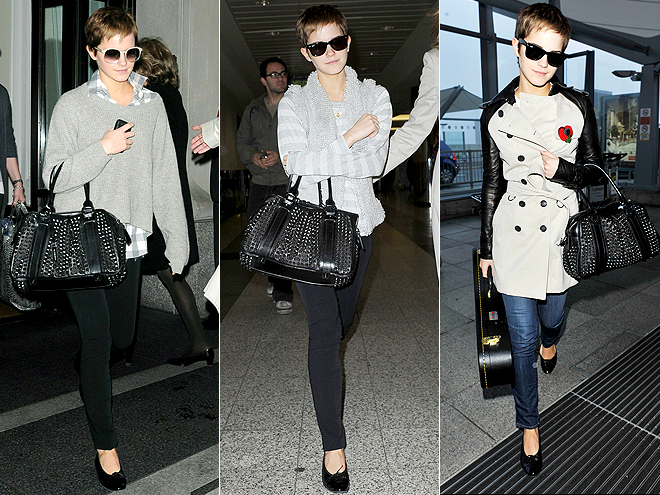 BURBERRY STUDDED TOTE photo | Emma Watson