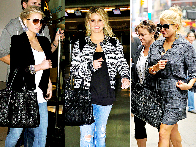 DIOR TOTE  photo | Jessica Simpson