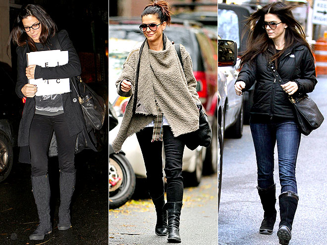 LANVIN MESSENGER BAG photo | Sandra Bullock