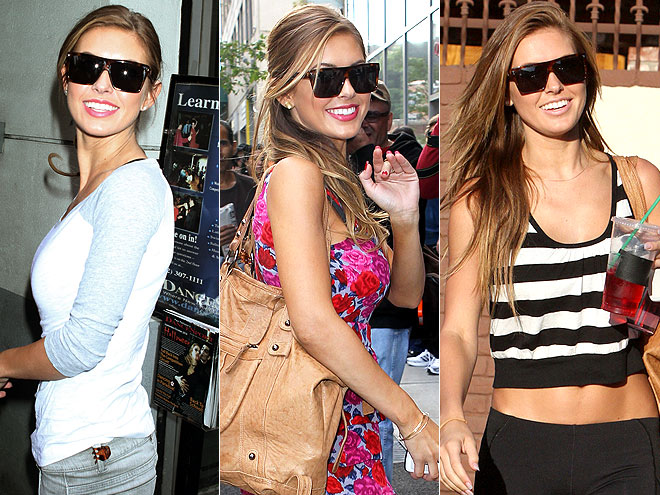 ROCK & REPUBLIC SUNGLASSES photo | Audrina Patridge