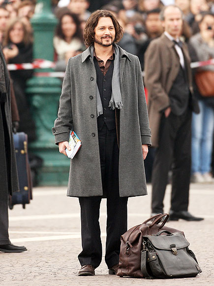 Lights Camera Fashion Johnny Depp