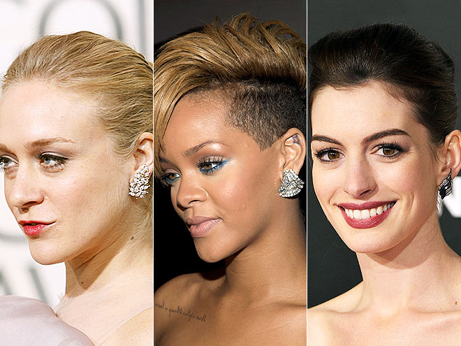 STATEMENT EARRINGS photo | Chloe Sevigny, Anne Hathaway, Rihanna