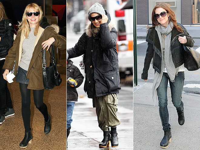 CLOG BOOTS  photo | Julianne Moore, Michelle Williams, Sarah Jessica Parker