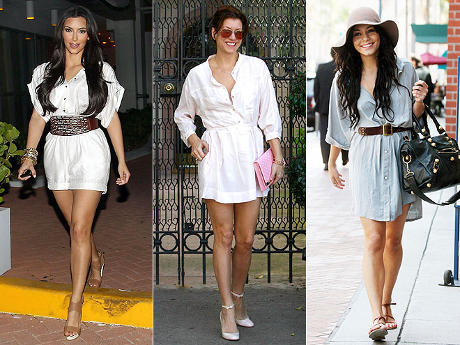 SHIRTDRESSES photo | Kate Walsh, Kim Kardashian, Vanessa Hudgens