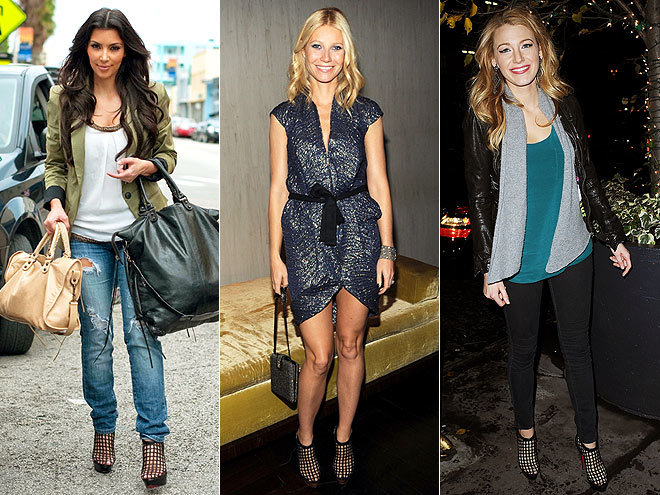 CAGED BOOTIES photo | Blake Lively, Gwyneth Paltrow, Kim Kardashian