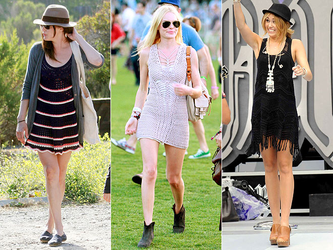 CROCHET DRESSES photo | Kate Bosworth, Liv Tyler, Miley Cyrus