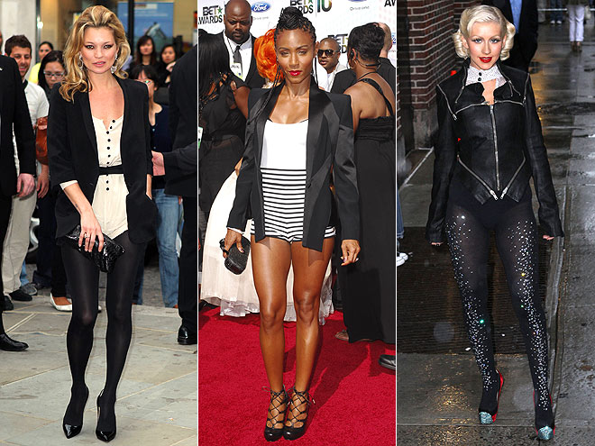 BODYSUITS AND JACKETS photo | Christina Aguilera, Jada Pinkett Smith, Kate Moss