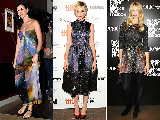 ASTRAL PRINTS photo | Carey Mulligan, Claudia Schiffer, Katy Perry