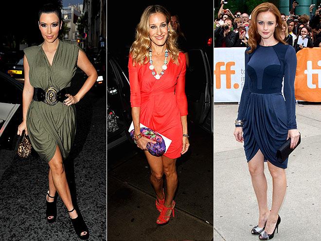 TULIP SKIRTS  photo | Alexis Bledel, Kim Kardashian, Sarah Jessica Parker