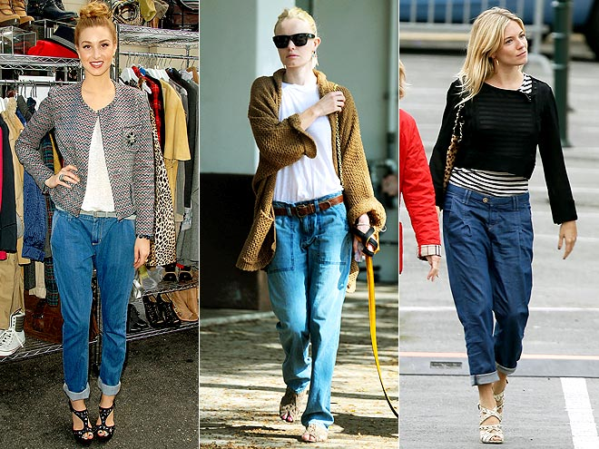 BAGGY JEANS  photo | Kate Bosworth, Sienna Miller, Whitney Port