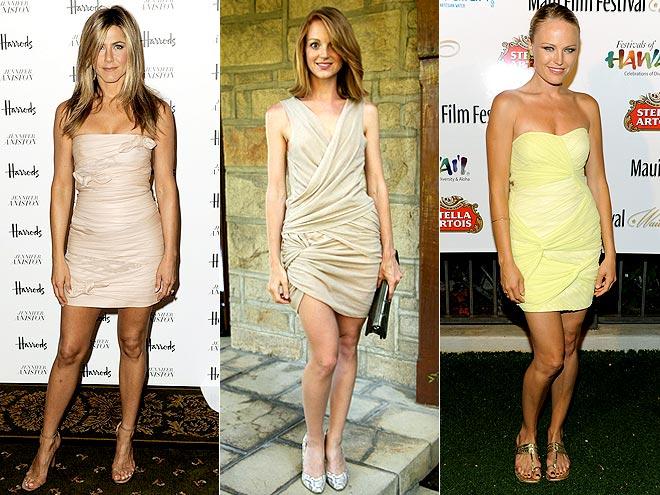 TWISTED DRESSES photo | Jayma Mays, Jennifer Aniston, Malin Akerman