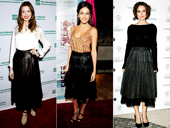 FULL SKIRTS photo | Anne Hathaway, Camilla Belle, Keira Knightley