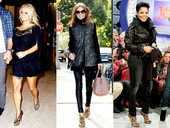 LEOPARD BOOTIES  photo | Janet Jackson, Jessica Simpson, Olivia Palermo