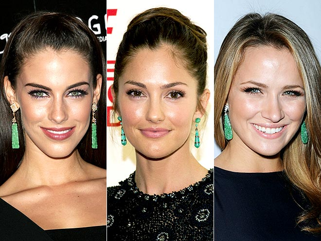 JADE EARRINGS photo | Jessica Lowndes, Minka Kelly, Shantel VanSanten