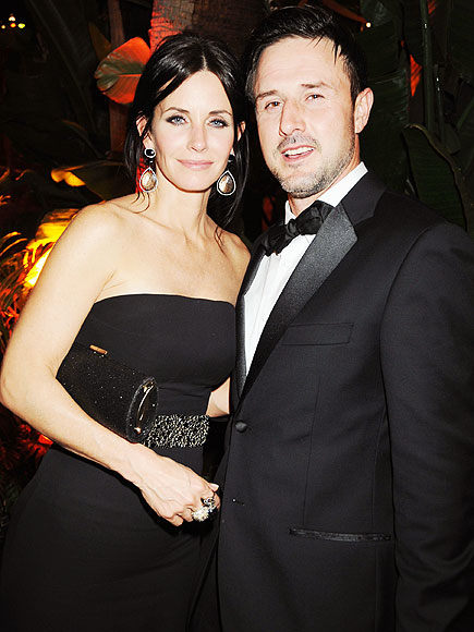 COURTENEY COX'S GOWN photo | Courteney Cox