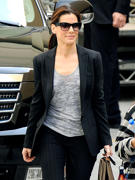 SANDRA BULLOCK'S T-SHIRT photo | Sandra Bullock