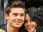 Zac & Vanessa Cheer for the Lakers | Vanessa Hudgens, Zac Efron