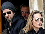 Brad & Angie Treat the Kids in Italy | Angelina Jolie, Brad Pitt