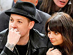 Nicole and Joel: Basketball and PDA | Joel Madden, Nicole Richie