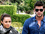 Miley & Liam's Sweet Sunday Stroll | Miley Cyrus