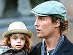 Matthew McConuaghey Treats Levi to Lunch | Matthew McConaughey