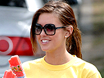 Audrina Patridge Runs a Race | Audrina Patridge