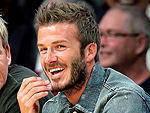 Becks Goes Courtside – and More Star Sightings | David Beckham