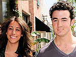 Newlyweds Kevin and Danielle Jonas take a romantic stroll