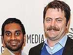 Aziz Ansari Accuses Parks and Recreation Costar Nick Offerman of Shoplifting
