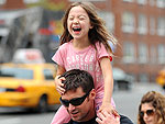 Hugh Jackman Gives Daughter Ava a Lift | Hugh Jackman
