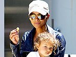 Off-Duty Hollywood: Halle Berry&#39;s Sweet Stroll with Nahla | Halle Berry