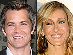 Tim Olyphant Dishes on Making Out with SJP