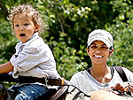 Halle Berry Takes Nahla for a Pony Ride | Halle Berry