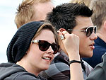 Kristen Stewart and Taylor Launter Make Waves in Sydney | Kristen Stewart, Taylor Lautner