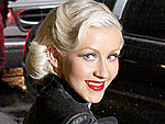 Christina Aguilera Brakes for Fans Before Speeding Off | Christina Aguilera