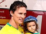 Matthew McConaughey and Son Levi Celebrate the World Cup | Matthew McConaughey
