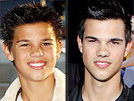 Taylor Lautner's Changing Looks!