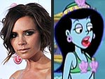 Victoria Beckham Gets Animated on SpongeBob SquarePants!