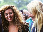 Beyoncé and Gwyneth Paltrow Hook Up for a Concert | Beyonce Knowles, Gwyneth Paltrow